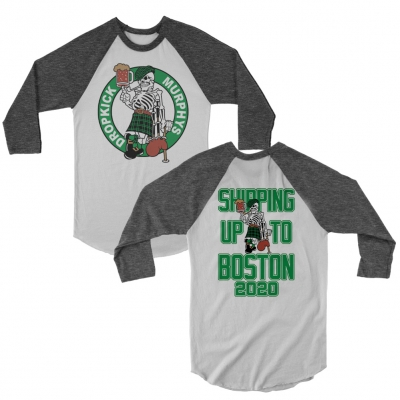 Shipping Up to Boston 2020 Raglan (White/Onyx)