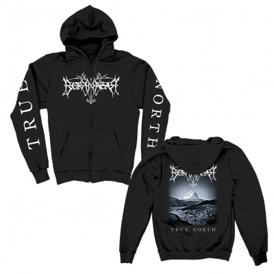 borknagar - True North Zip Up Hoodie (Black)