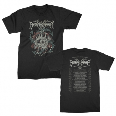 borknagar - North American Tour 2020 T-Shirt (Black)