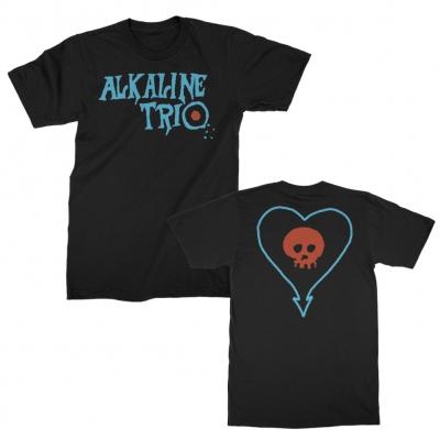 alkaline-trio - E.P. Logo Heartskull Tee (Black)