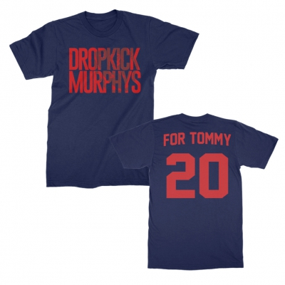 dropkick-murphys - Stacked Shield For Tommy Tee (Navy)