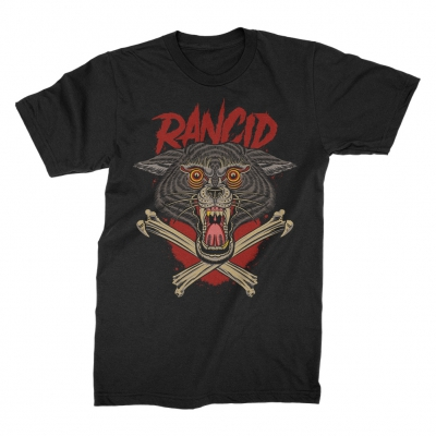 rancid - Wolf Sweet Relief Charity T-Shirt (Black)