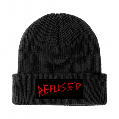 refused - War Music Beanie (Black)