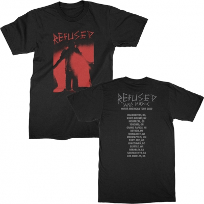 refused - War Music Tour Tee (Black)
