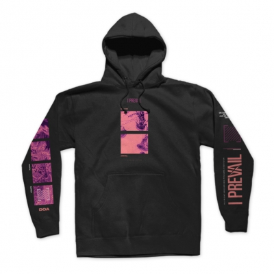 i-prevail - DOA Pullover Hoodie (Black)