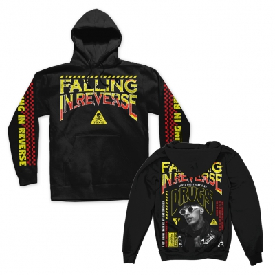 falling-in-reverse - Drugs Pullover Hoodie (Black)