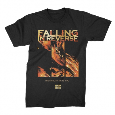 falling-in-reverse - Fire Tee (Black)