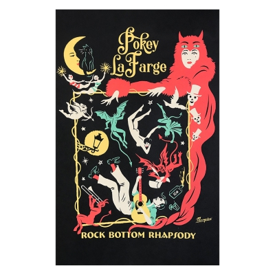 "pokey-lafarge - Rock Bottom Rhapsody Poster (11""x17"")"