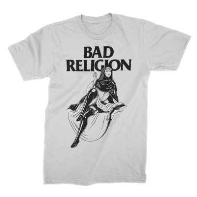 Bad Religion - Sexy Nun Tee (White)