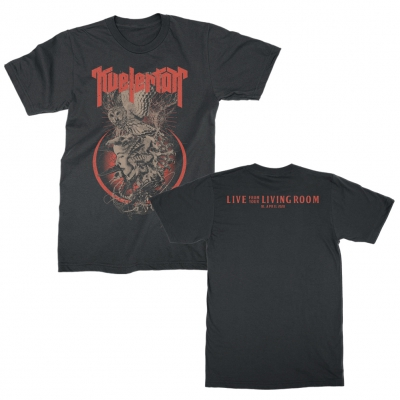 kvelertak - Live From Your Living Room Tee (Black)