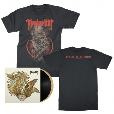 kvelertak - Event Tee + Black & Gold Splid LP Bundle