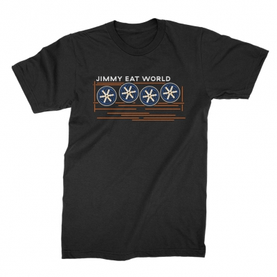 jimmy-eat-world - Surviving Fans Tee (Black)