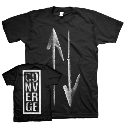 converge - Endless Arrow Tee (Black)