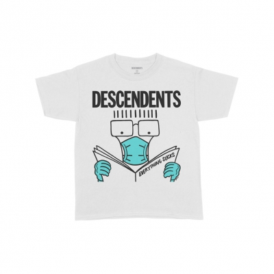 descendents - Limited-Edition Everything Sucks Face Mask Youth T