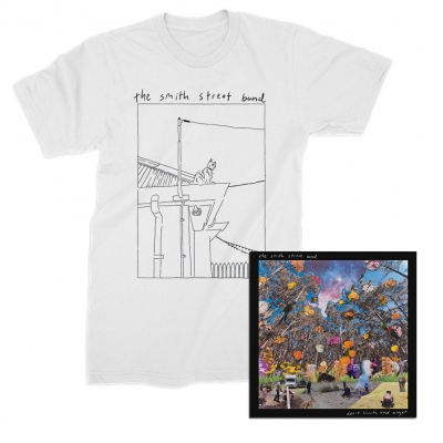 the-smith-street-band - Don't Waste Your Anger CD + Tee Bundle