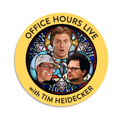 office-hours - Logo Sticker