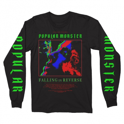 falling-in-reverse - Infrared Movie Poster Long Sleeve (Black)