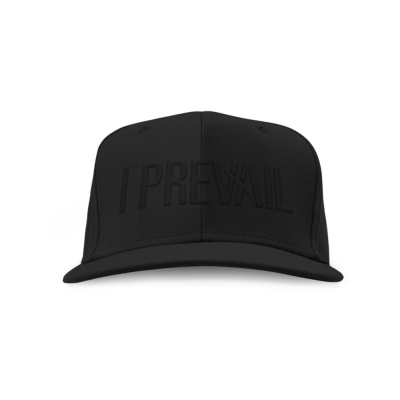 i-prevail - Logo Snapback Hat (Black/Black)