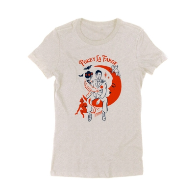 pokey-lafarge - Moon Women's Tee (Oatmeal)