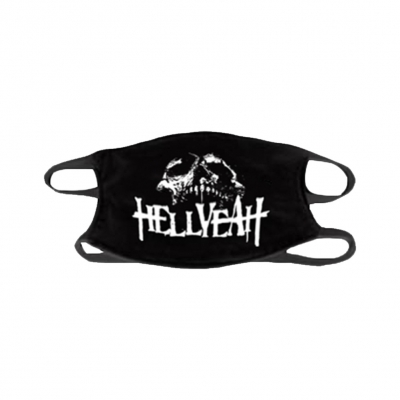 hellyeah - Skull Face Mask (Black)