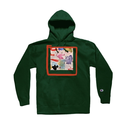 the-drums - Take Yer Meds Pullover Hoodie (Green)