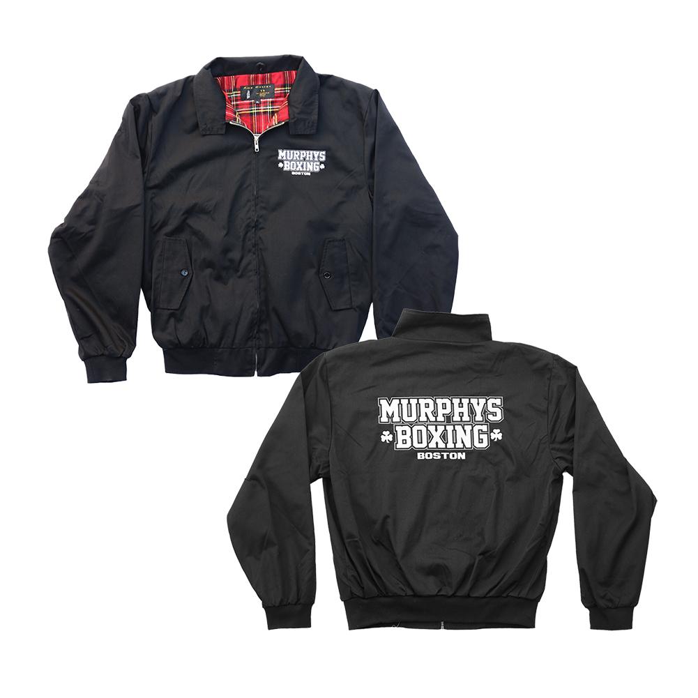 IMAGE | Embroidered Murphys Boxing Jacket (Black)