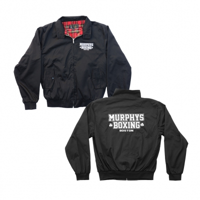 dropkick-murphys - Embroidered Murphys Boxing Jacket (Black)