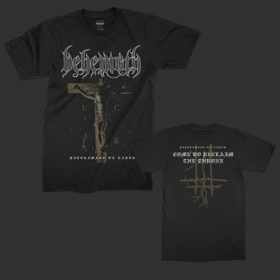 behemoth - Pilgrimage On Earth T-Shirt (Black)