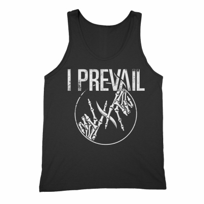 i-prevail - Skelly Hands Tank (Black)