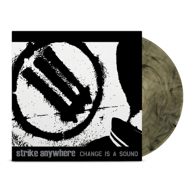 Strike Anywhere - Change Is A Sound LP (Clear/Black)