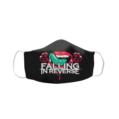 falling-in-reverse - Lips Mask (Black)