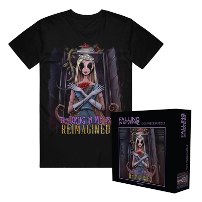falling-in-reverse - The Drug In Me Is Reimagined Tee + Puzzle Bundle