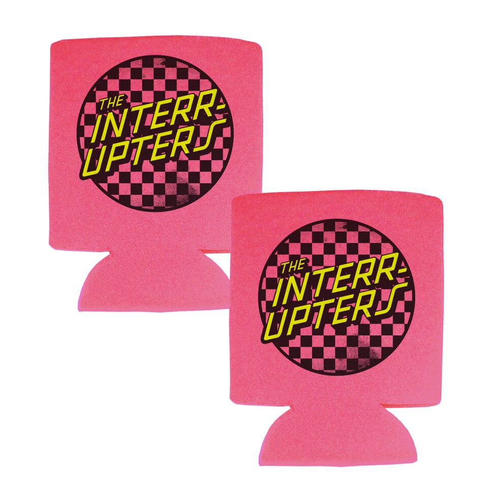 Checkered Coozie (Pink)