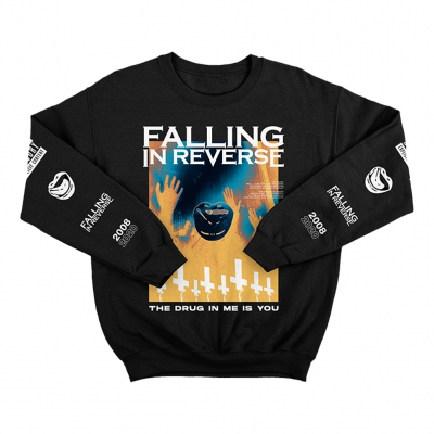 falling-in-reverse - Drug In Me Is You Crewneck (Black)