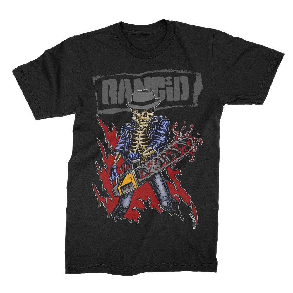Chainsaw Skele-Tim T-Shirt (Black)