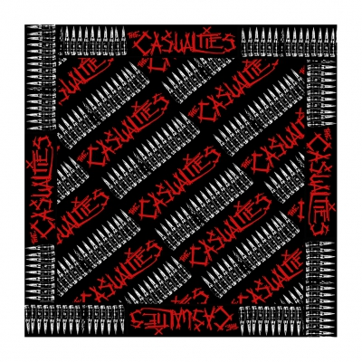 the-casualties - Bullets Bandana