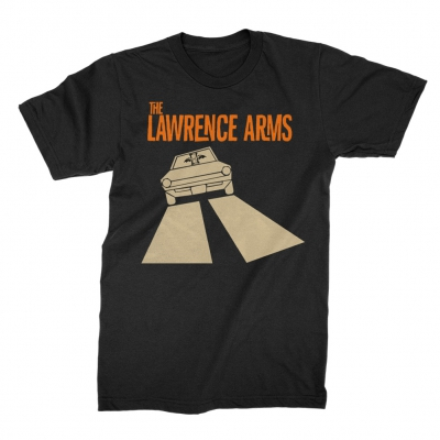 The Lawrence Arms - Car Tee (Black)