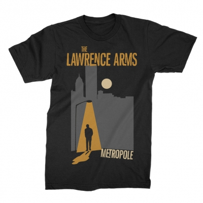 The Lawrence Arms - Metropole Tee (Black)