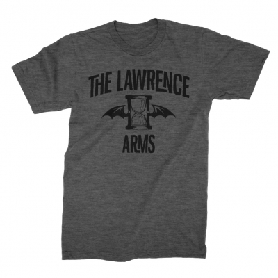 The Lawrence Arms - Flappy Logo Tee (Dark Heather Gray)
