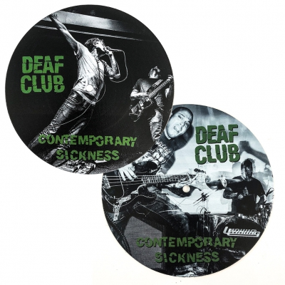 "Deaf Club - Contemporary Sickness 7"" (Cover 1 or 2)"