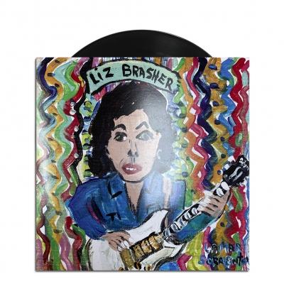 "liz-brasher - Liz Brasher 7"" (Black)"