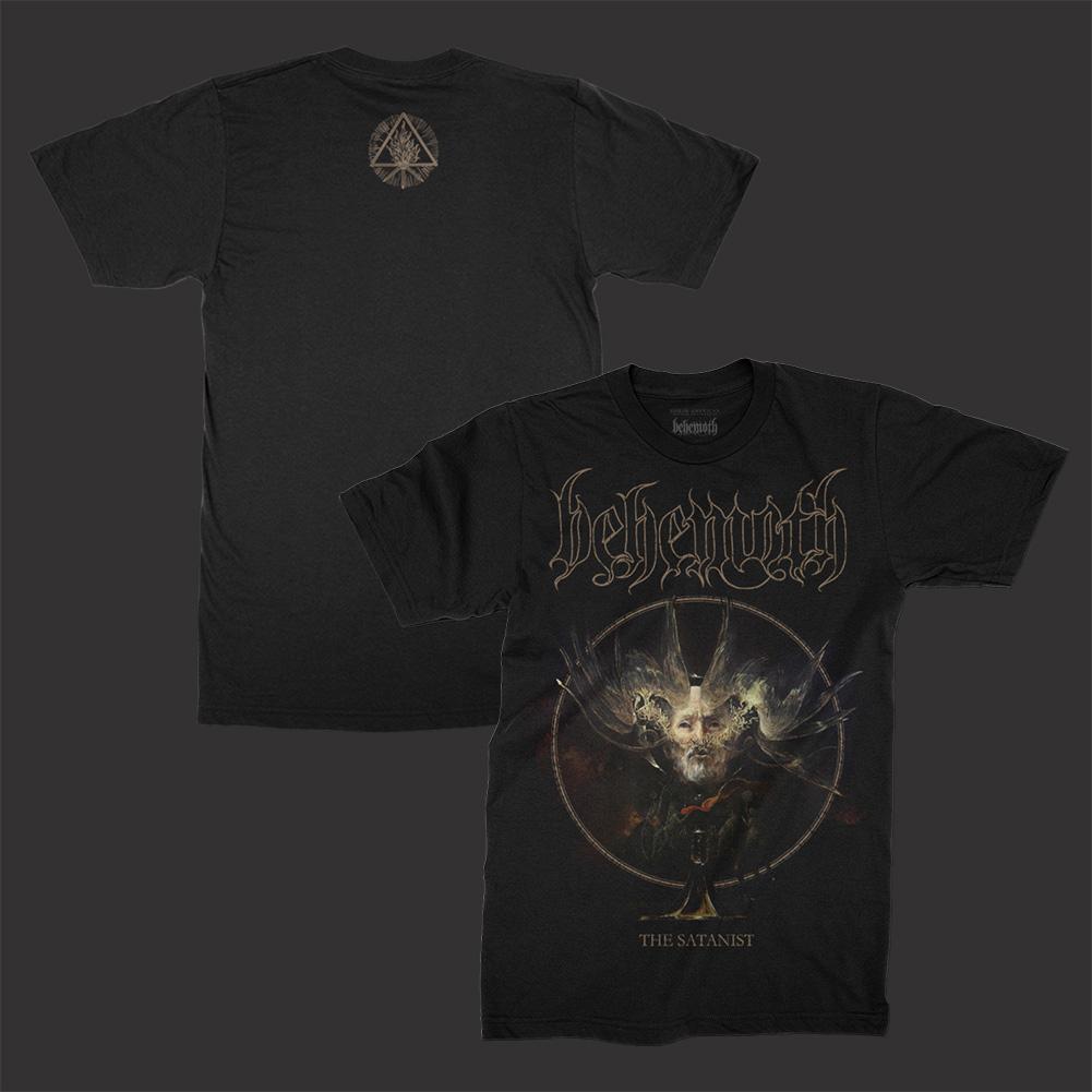 IMAGE   The Satanist Cover Art T-Shirt (Black)