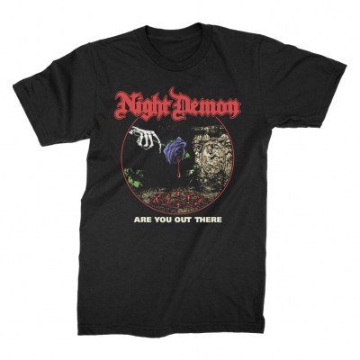 night-demon - Are You Out There? T-Shirt (Black)
