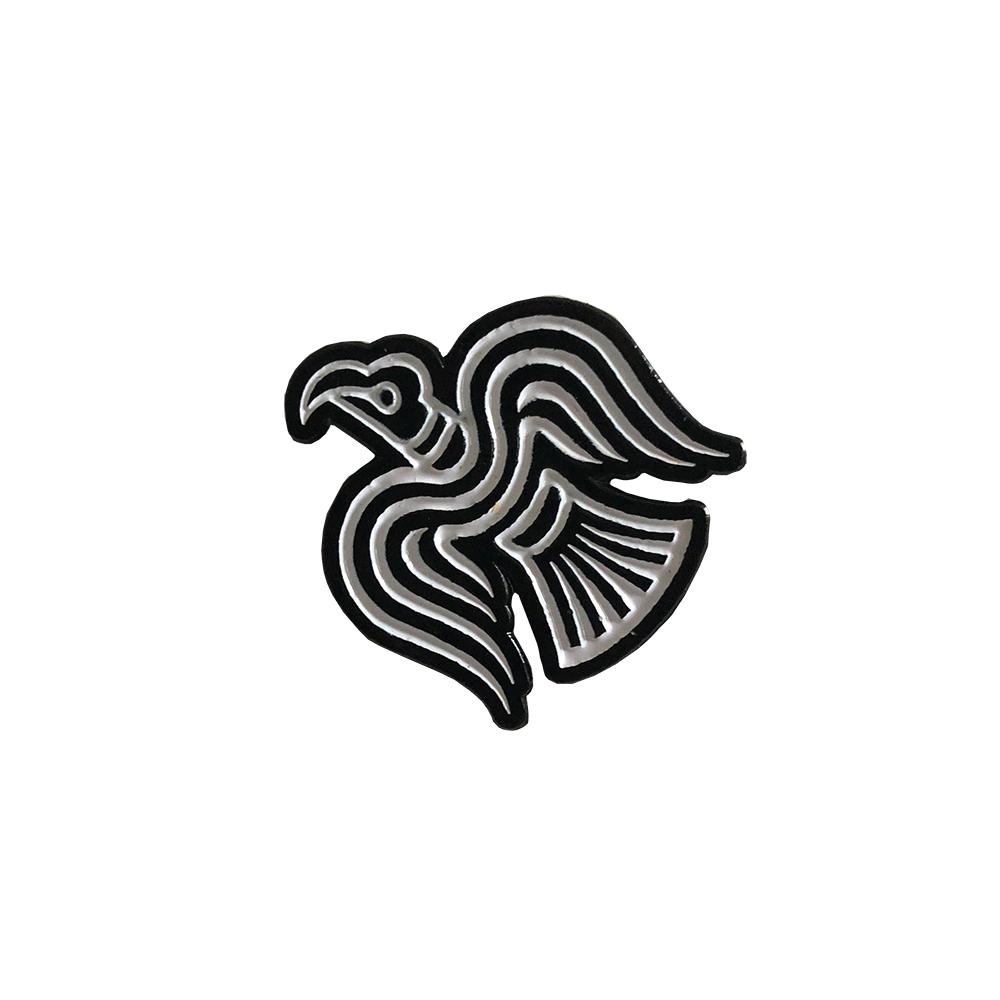 IMAGE   Raven Enamel Pin