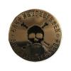 IMAGE | Skull Enamel Pin (Gold) - detail 1