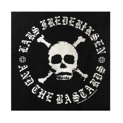 Skull Canvas Back Patch