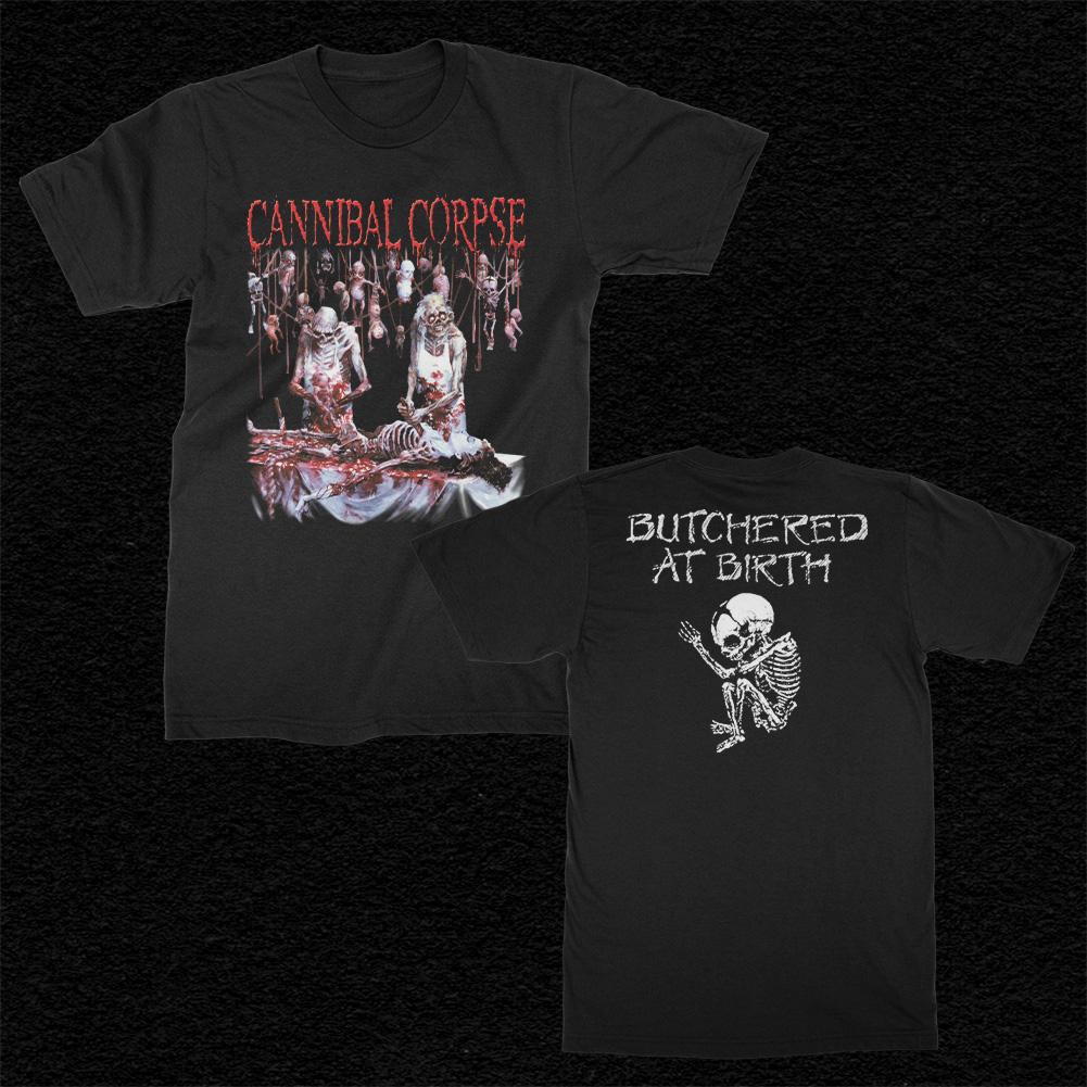 IMAGE   Butchered At Birth T-Shirt (Black)