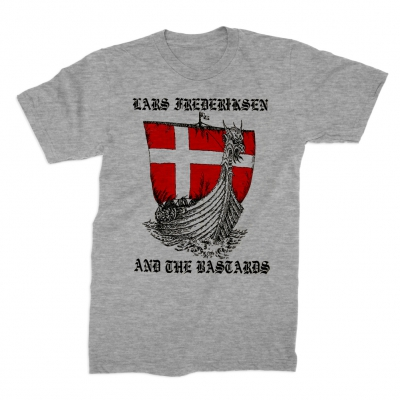 Lars Frederiksen & The Bastards - Ship T-Shirt (Grey)