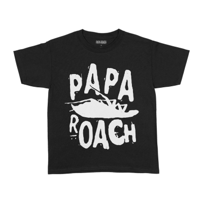 papa-roach - Classic Roach Youth Tee (Black)