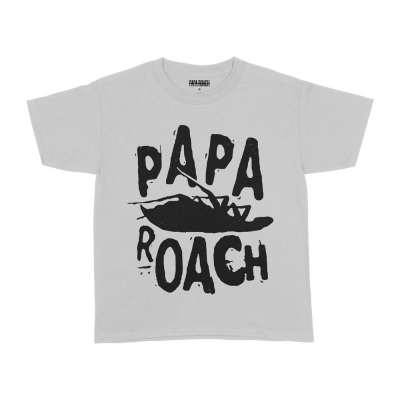 Classic Roach Youth Tee (White)